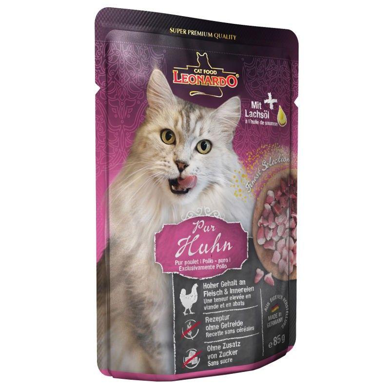 Leonardo Cat Fine Selection Chicken wet saqueta