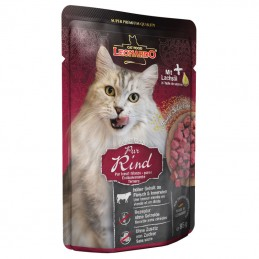 Leonardo Cat Fine Selection Beef wet saqueta