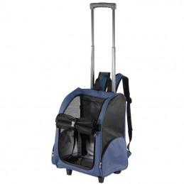 Bribon trolley e mochila Milão azul