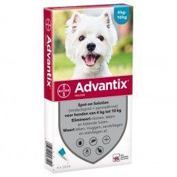 Advantix pipetas antiparasitárias para cães
