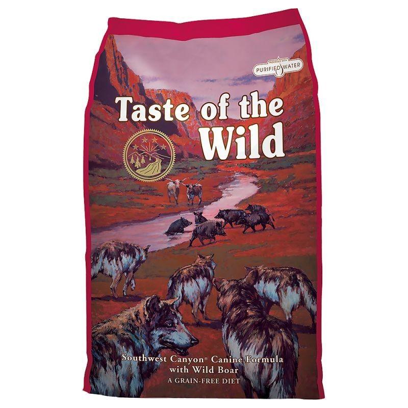Taste of the Wild Southwest Canyon Adulto Javali Selvagem