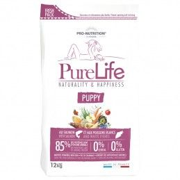 Flatazor Pure Life Puppy Salmon & White Fishes