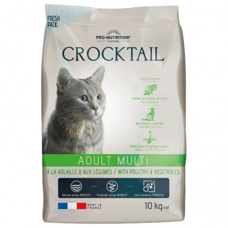 Flatazor Crocktail Cat Adult Multi Poultry & Vegetables