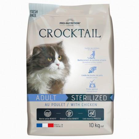 Flatazor Crocktail Cat Adult Sterilised Chicken