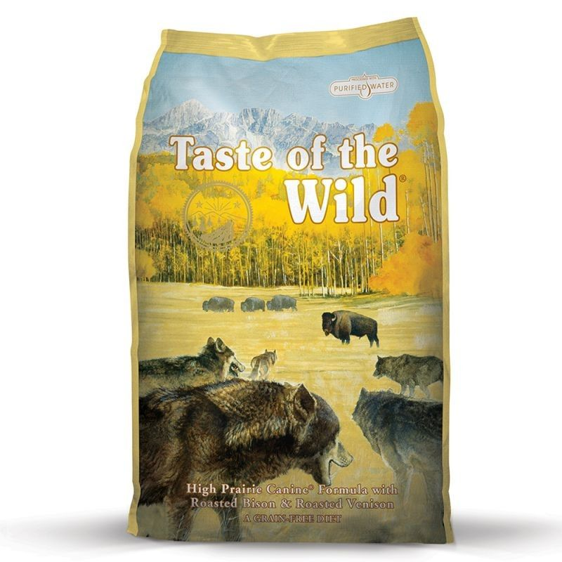 Taste of the Wild High Praire Adulto Bisonte & Veado Assado