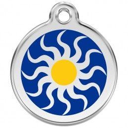 Red Dingo medalha identificadora Tribal Sun