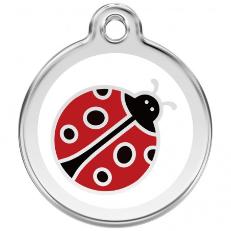 Red Dingo medalha identificadora Ladybug