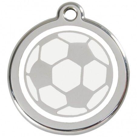 Red Dingo medalha identificadora Soccer Ball White