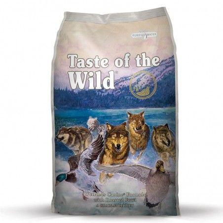 Taste of the Wild Wetlands Adulto Pato Assado