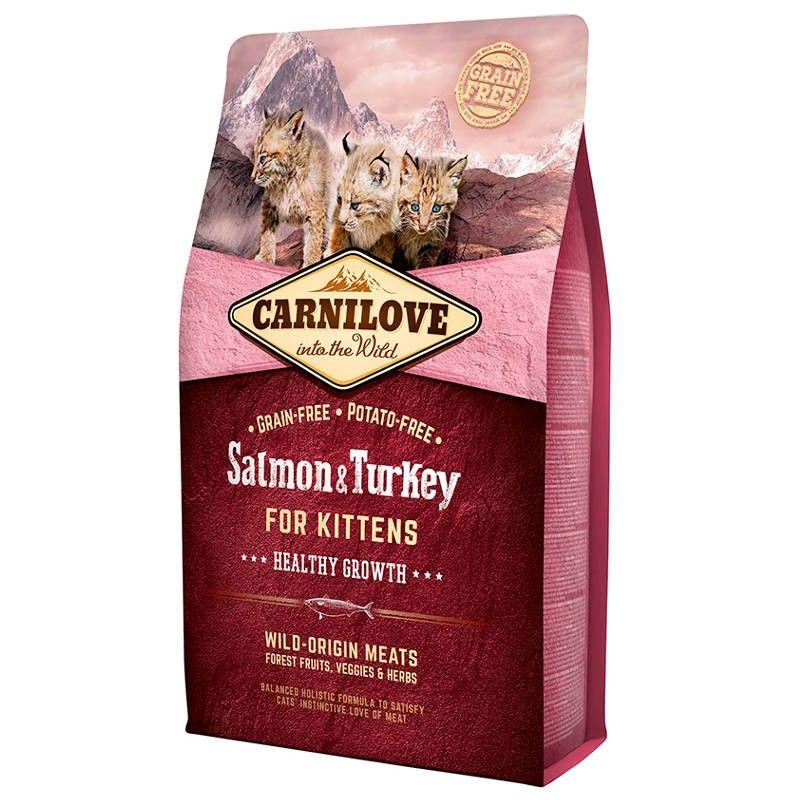 Carnilove Kitten Healthy Growth Salmon & Turkey
