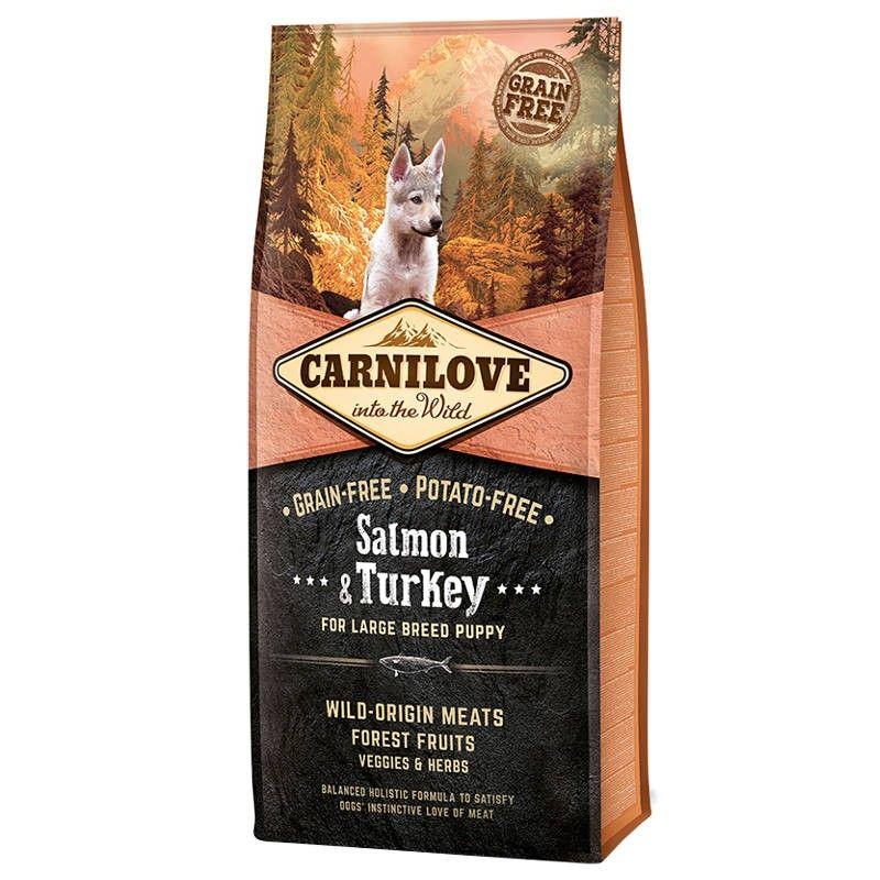 Carnilove Salmon & Turkey Puppy Large Dog
