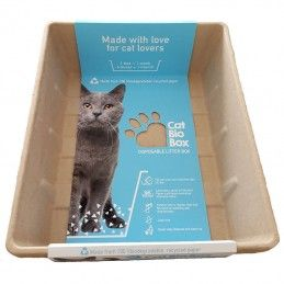 Cat Bio Box wc biodegradável pack