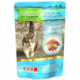 Natures Menu Cat Senior Chicken, Salmon & Cod