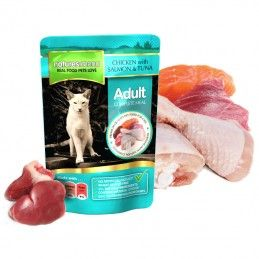 Natures Menu Cat Adult Chicken with Salmon & Tuna