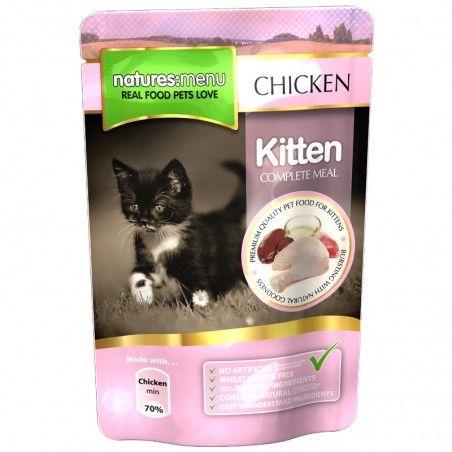 Natures Menu Cat Kitten Chicken