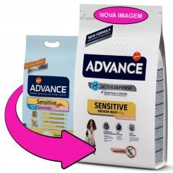 Advance Adult Medium & Maxi Sensitive Salmon & Rice