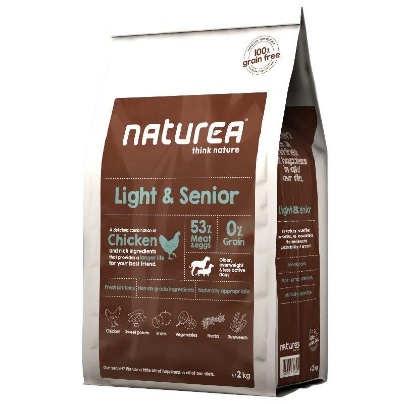 Naturea Light & Senior Chicken & Rich Ingredients