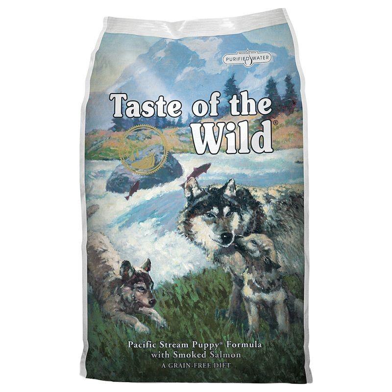 Taste of the Wild Pacific Stream Puppy Salmão Fumado