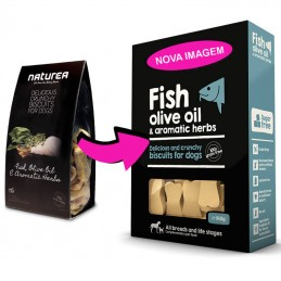 Naturea Biscuits Fish, Olive & Aromatic Herbs
