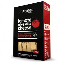 Naturea Biscuits Tomato, Olive Oil & Chesse