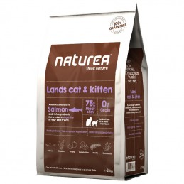 Naturea Lands Cat & Kitten Salmon & Rich Ingredients