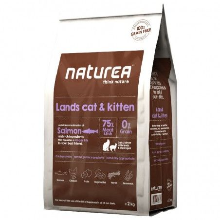 Naturea Lands Cat & Kitten Salmon & Rich Ingredients