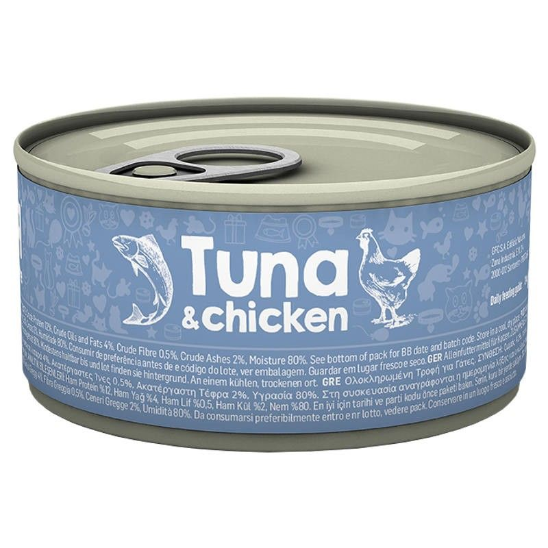 Naturea Cat Tuna & Chicken wet lata