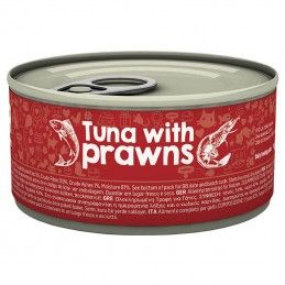 Naturea Cat Tuna & Prawns wet lata