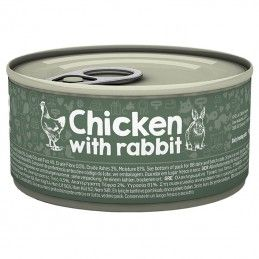 Naturea Cat Chicken & Rabbit wet lata
