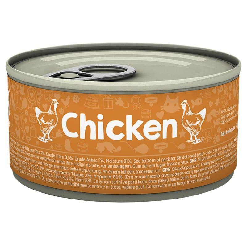Naturea Cat Chicken wet lata