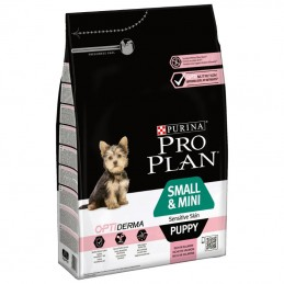 Purina Pro Plan Small & Mini Sensitive Skin Puppy OptiDerma Salmon