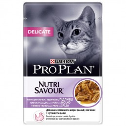Purina Pro Plan NutriSavour Delicate Turkey