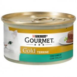 Purina Gourmet Gold Terrine com Coelho