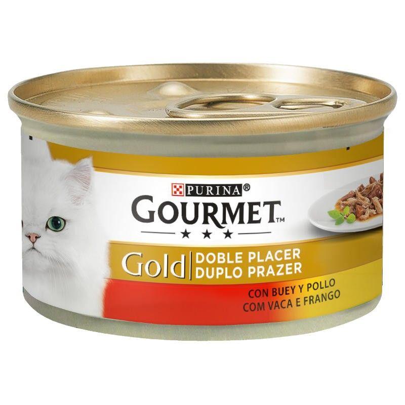 Purina Gourmet Gold Duplo Prazer Carne Vaca e Frango