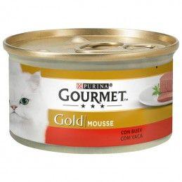 Purina Gourmet Gold Mousse Carne Vaca