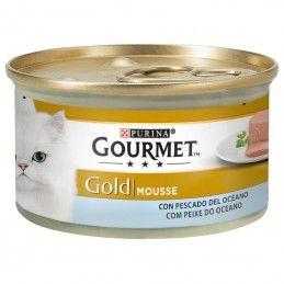 Purina Gourmet Gold Mousse Peixe Oceano