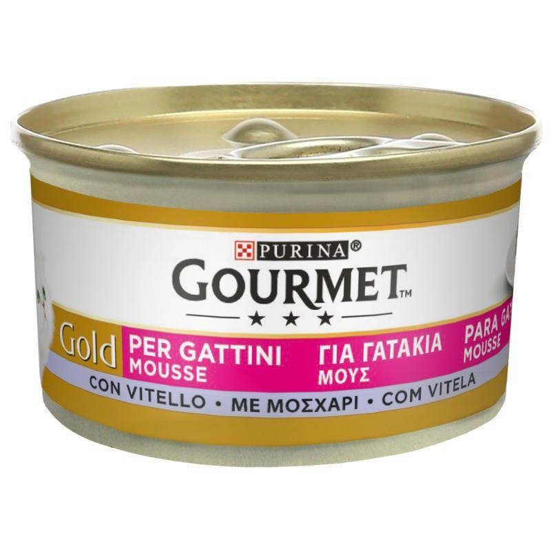Purina Gourmet Gold Gatinhos Vitela