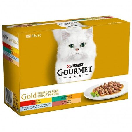 Purina Gourmet Gold Duplo Prazer Multipack 12x85gr