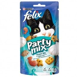 Purina Felix Party Mix Snacks Ocean Mix