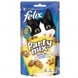 Purina Felix Party Mix Snacks Cheezy Mix