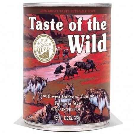 Taste of the Wild Southwest Canyon wet Adulto Javali Selvagem