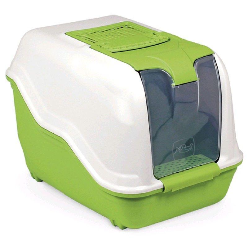 Arquivet Netta wc fechado verde com abertura fácil