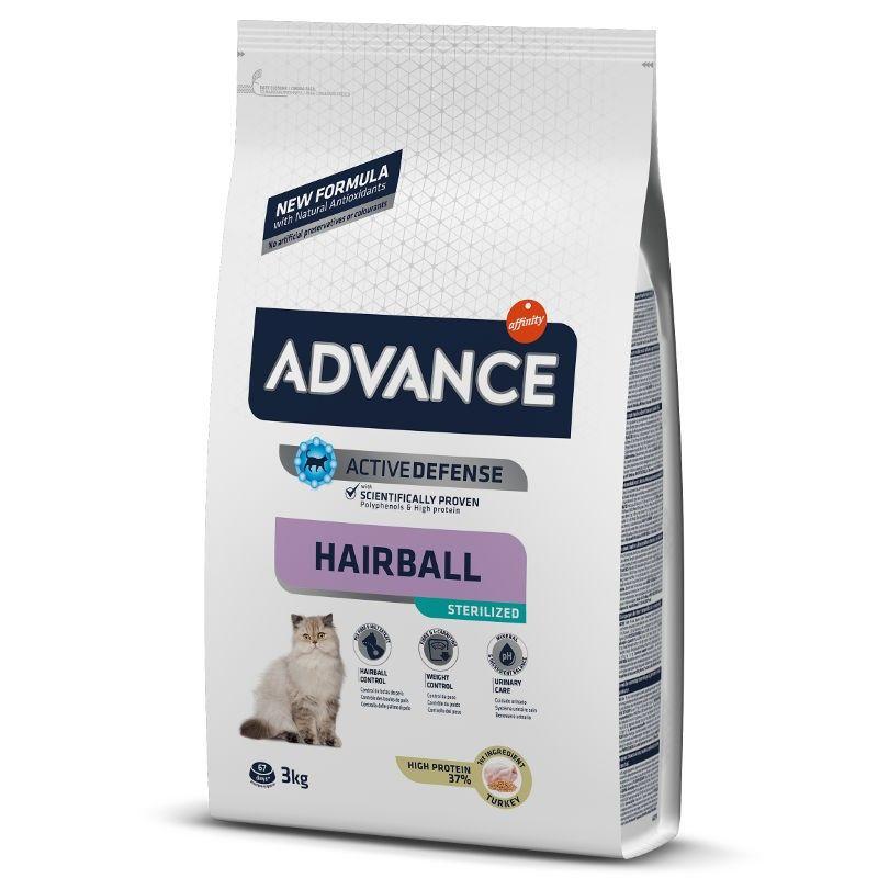 Advance Cat Adult Sterilised Hairball Turkey & Barley