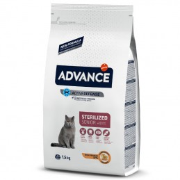 Advance Cat Sterilised Senior +10 Chicken & Barley