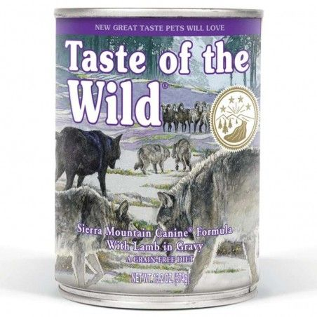 Taste of the Wild Sierra Mountain wet Adulto Borrego Assado