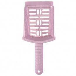 Imac wc tabuleiro com pá azul rosa claro