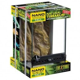 Terrário de vidro Exo Terra Nano Tall