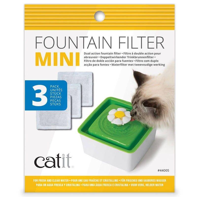 Catit Filtros para fonte Mini Flower 1,5lt