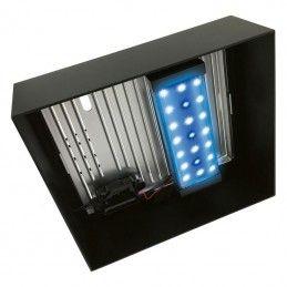 Aquario Fluval Edge 2.0 preto com iluminação led 23lt