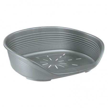 Ferplast cama plástico prata